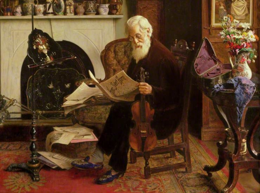 Charles spencelayh his favourite for Faccende domestiche in inglese