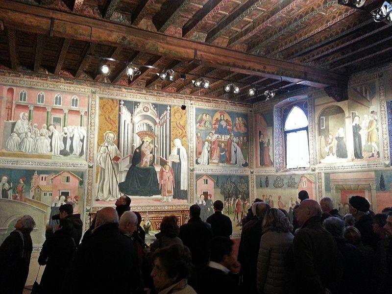La casa di santa francesca romana a tor de specchi podcasts audio e video - Specchi riflessi testo ...